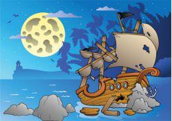 Les Sept Pirates - 8/12 ans
