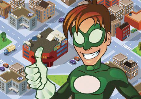 Le jeu des super-héros - 6-7 ans