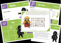 Le jeu des ninjas - 6-7 ans