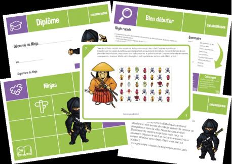 Le jeu des ninjas - 5-7 ans
