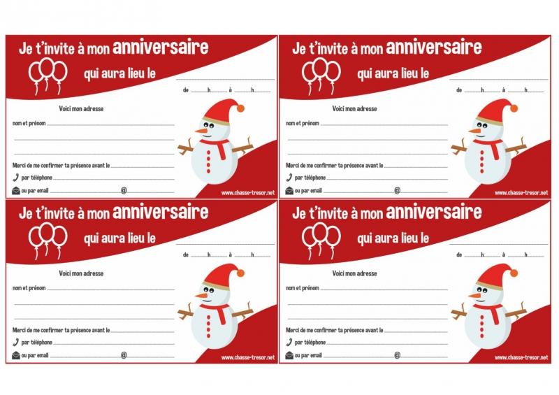 Invitations imprimer pour anniversaire thme de nol chasseotresor invitations imprimer pour anniversaire thme de nol stopboris Image collections