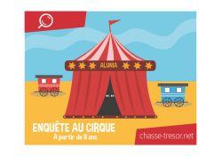 Enquête policière au cirque - à partir de 8 ans