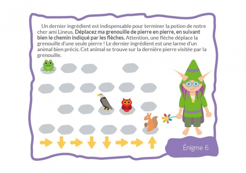 Connu Chasse au trésor du Magicien - 6/7 ans - chasseOtresor AL15