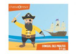 Chasse au trésor des Pirates - 6/7 ans