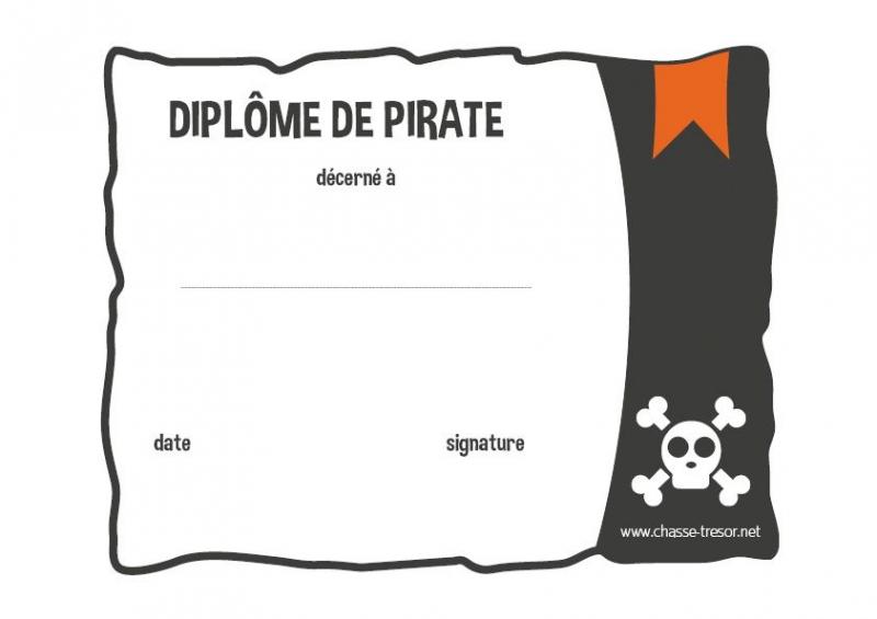 Fabuleux Chasses au trésor Pirate pour un anniversaire AK68