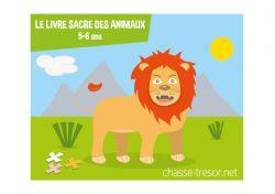 Le livre sacré des animaux - gratuit - 5-6 ans