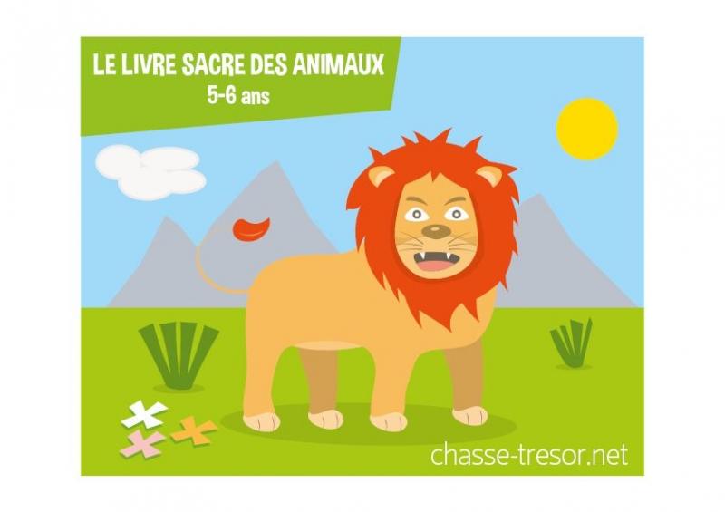 Sehr Le livre sacré des animaux - gratuit - 5-6 ans - chasseOtresor RY59