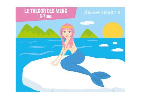 Le Trésor des Sirènes - 6/7 ans