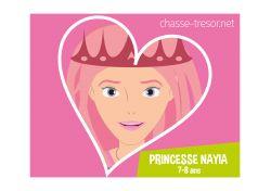 Chasse au trésor Princesse - 7-8 ans