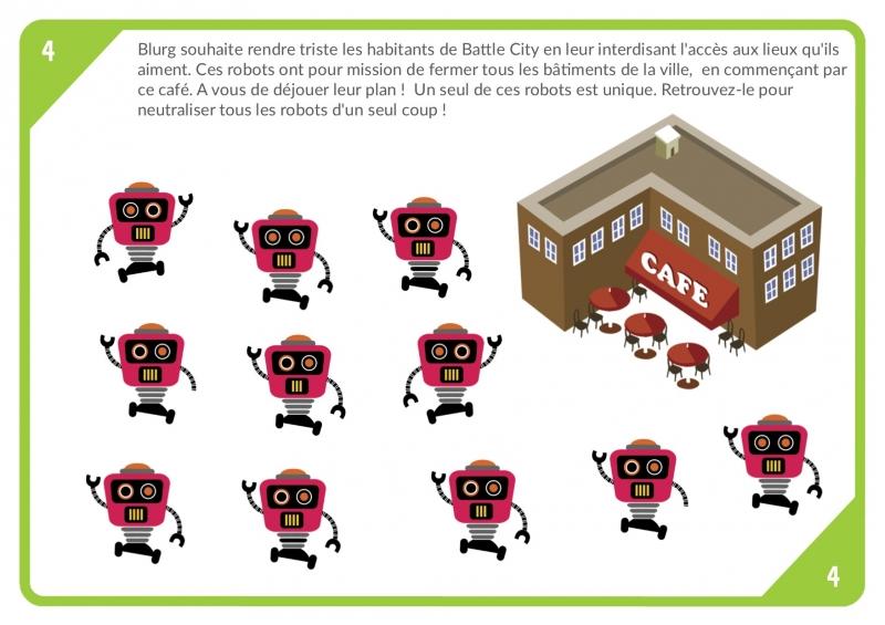 le jeu des ninjas 6 7 ans chasseotresor. Black Bedroom Furniture Sets. Home Design Ideas